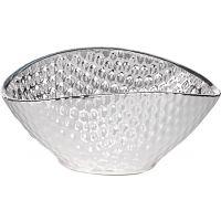 Silver & Glass Bowl