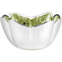 Silver & Glass Tulip Bowl