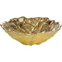 Gold & Glass Bowl