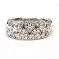 18ct Diamond Dress Ring
