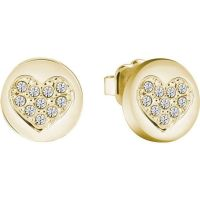 Guess Crystal Heart Earrings