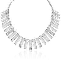 Silver Cleopatra Style Necklet