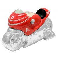 Silver & China Trinket Box