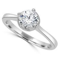 Silver Cz Ring