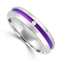 Ti2 Titanium Diamond Ring