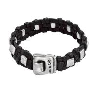 Uno De 50 Leather Bracelet