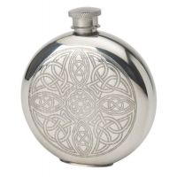 6oz Celtic Interlace Flask