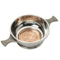 "4"" Celtic Copper Quaich"