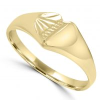 9ct Gold Childs Signet Ring