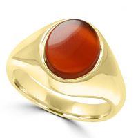 9ct Carnelian Signet Ring