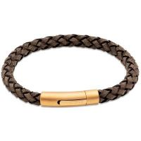 Unique Gents Leather Bracelet