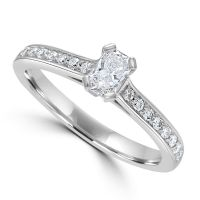Platinum Phoenix Cut Diamond