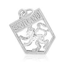 Silver Scotland Charm