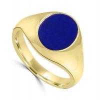 9ct Gold Lapis Ring