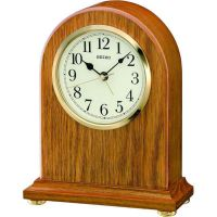 Seiko Oak Quartz Mantel Clock