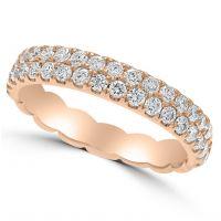 14ct Diamond Band Ring
