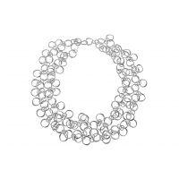 Silver Multi Length Necklet
