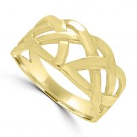9ct Celtic Knot Style Ring