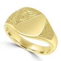 9ct Signet Ring